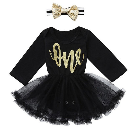 Fashion Infant Baby Girls Rompers Letter Print