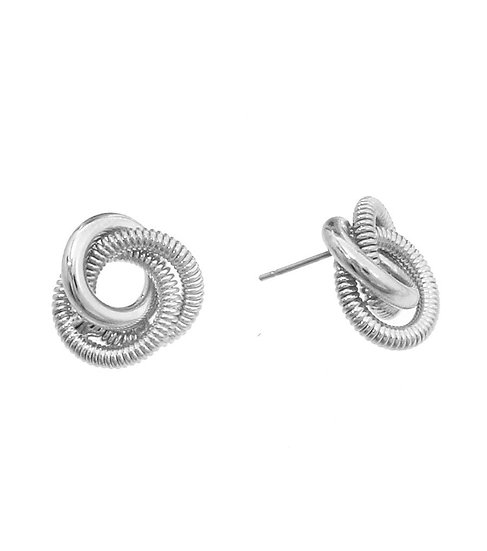 Simple Knotted Earrings