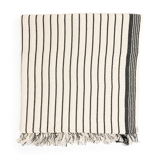 Brusa Peshtemal Pure Cotton Turkish Beach Towel