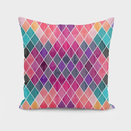Watercolor Geometric Patterns II  Cushion/Pillow
