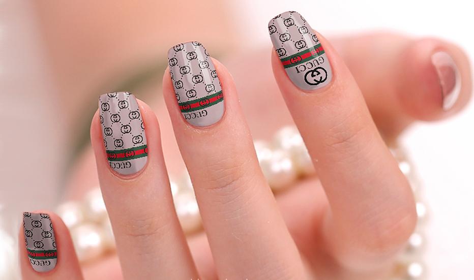 Gucci 1 Nail Wraps