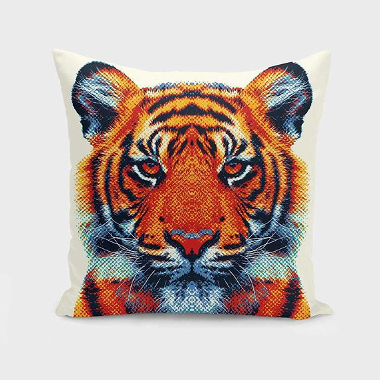 Tiger - Colorful Animals Pillow