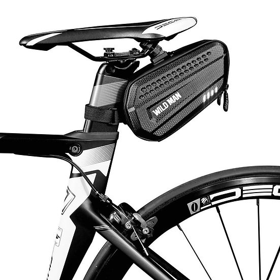 Bicycle Reflective Saddle Rear Bags MTB Bike Mobile Phone Case Cycle