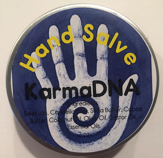 Herbal Hand Salve, Healing Salve