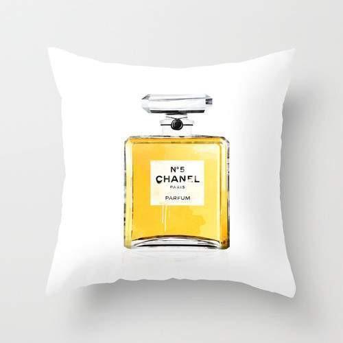 Chanel 5 Cushion/Pillow