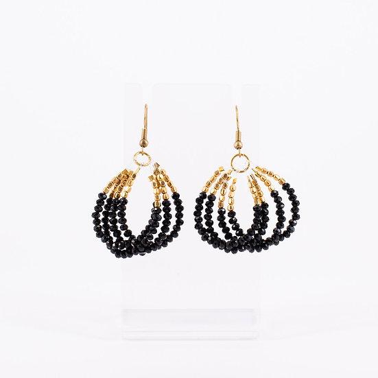 Deep Onyx Earrings