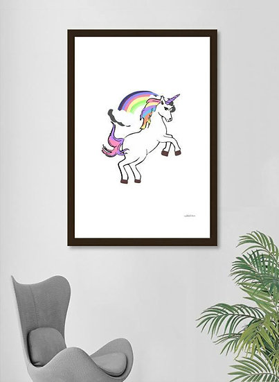 Unicorn Pride  Frame