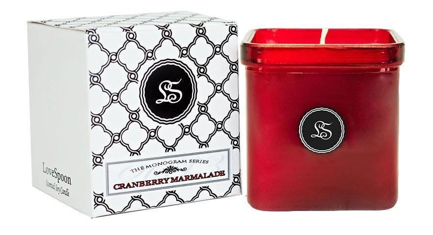 CRANBERRY MARMALADE SOY CANDLE