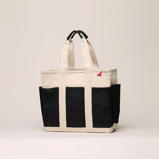 Medium Grocery Tote - Outside Pockets