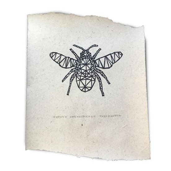 POSTER - BEE - 2 sizes