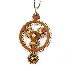 Kinetic Planetary Gear Necklace 6003B