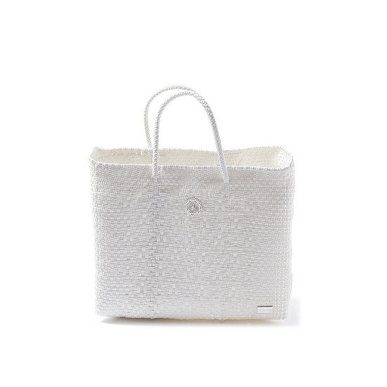 SMALL WHITE TOTE BAG