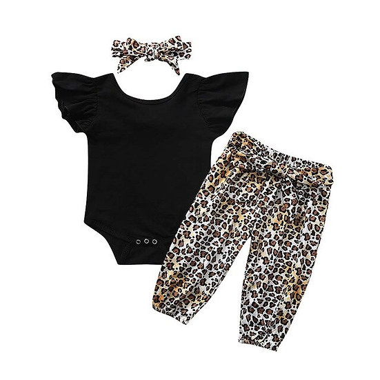 Infant Baby Girls Clothes Solid Romper