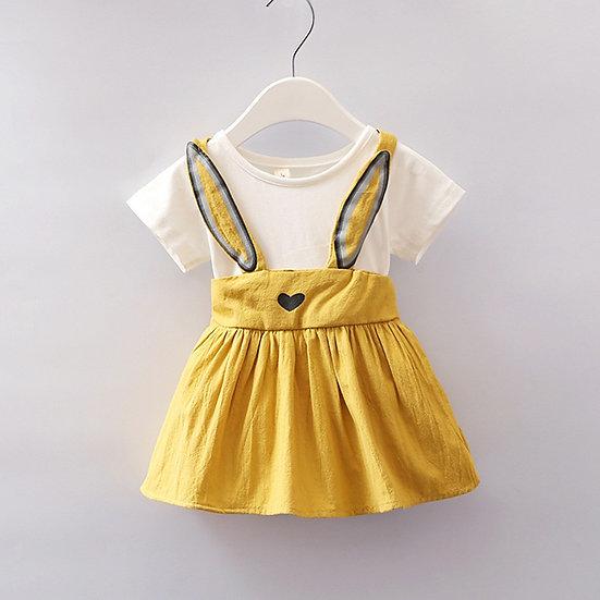Cute Newborn Toddler Baby Girls Dress Summer