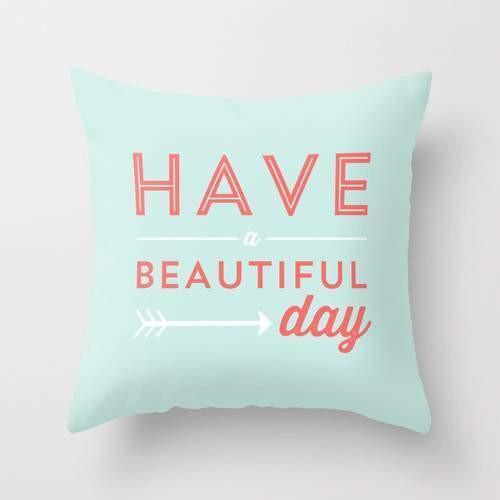 Beautiful Day Cushion/Pillow