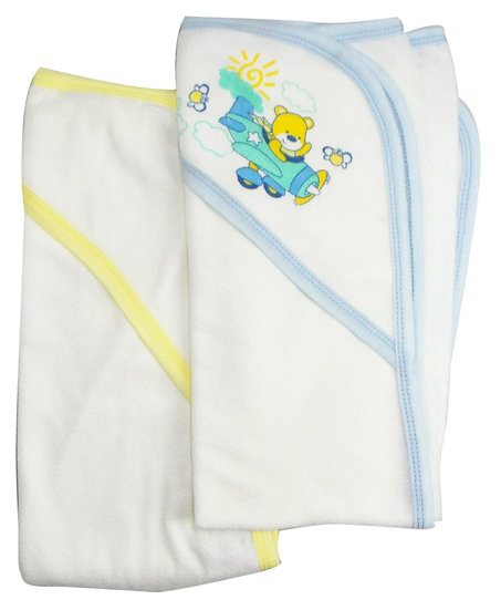 Infant Hooded Bath Towel (Pack of 2)
