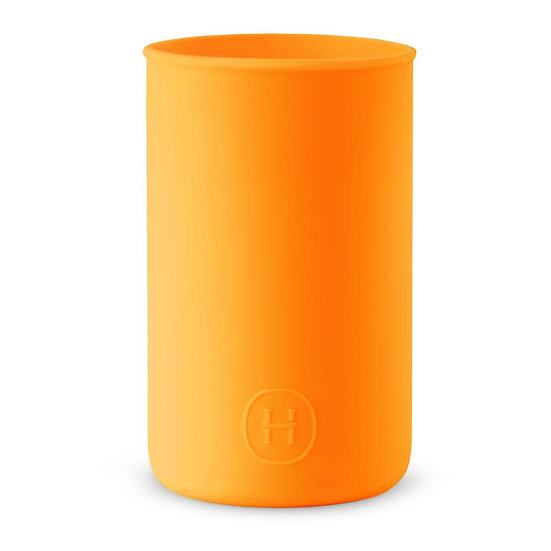 Silicone sleeve- Pumpkin Orange