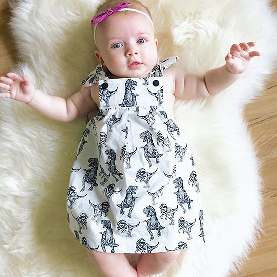 Baby Girls Dress Summer Infant Toddle