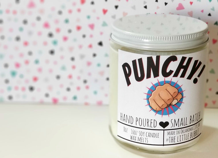 Punchy ~ Soy Candle