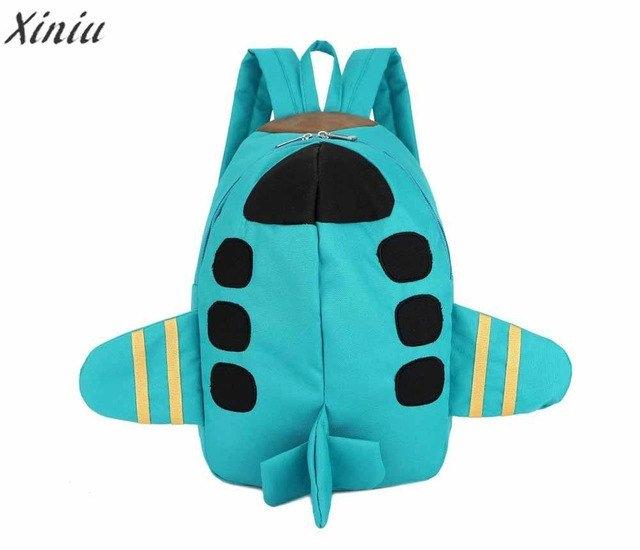 Fashion Backpack Baby kids Boys Girls unique Plane