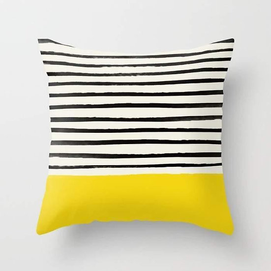 Sunshine x Stripes Cushion/Pillow