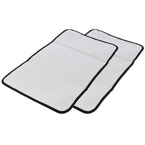 Obersee   2 Pack   Baby Portable Changing Pad   Baby Changing Mat  