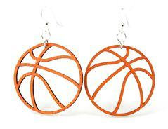 Basketball Earrings # 1205