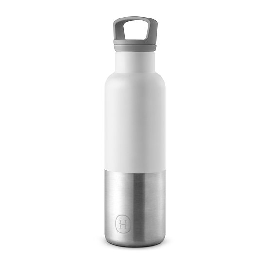 White-Stainless natural silver 20 Oz