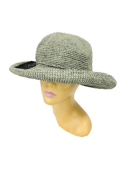 Leor  Crochet Hat -Grey