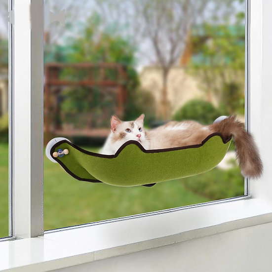 Cat Bed Pet Hanging Hammock Cat Pet Bed Window Hammock Comfortable
