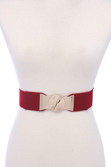 Pu Leather Elastic Belt