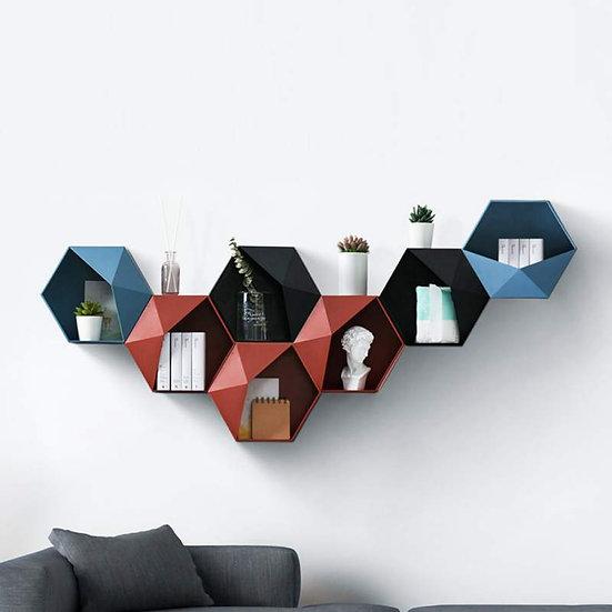 Geometric Floating Shelf