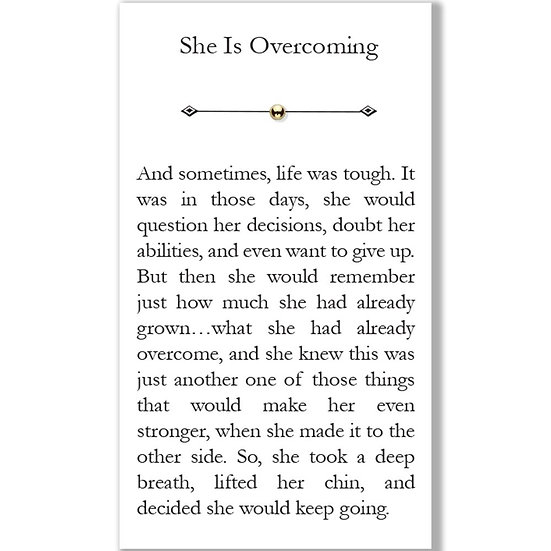 Chapter Bead-Overcoming