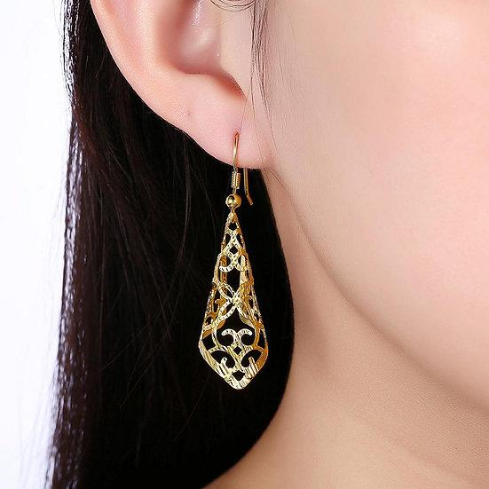 Murcia Drop Earring in 18K Gold Plated