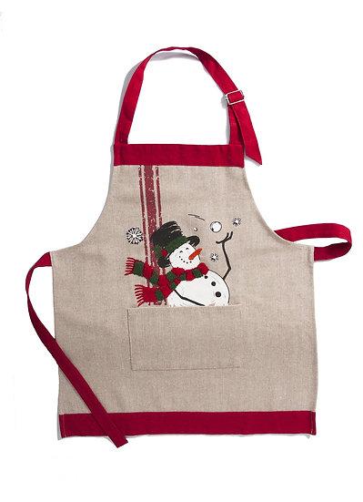 ML17128 Frosty Christmas Apron