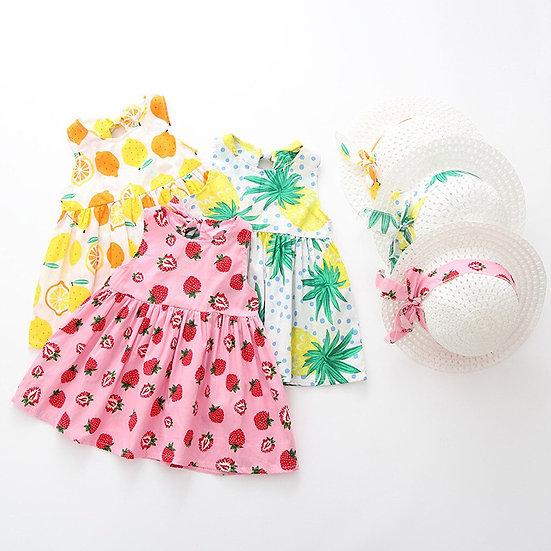 Kawaii Toddler Baby Kids Girls Summer Fruit