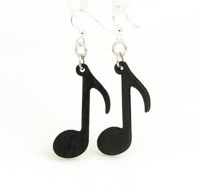 Music Note Earrings # 1446