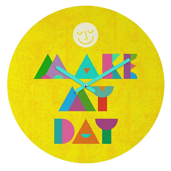 MAKE MY DAY WALL CLOCK