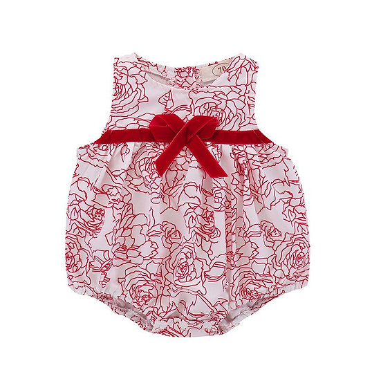 Newborn Baby Girl rompers Summer Clothing Bow