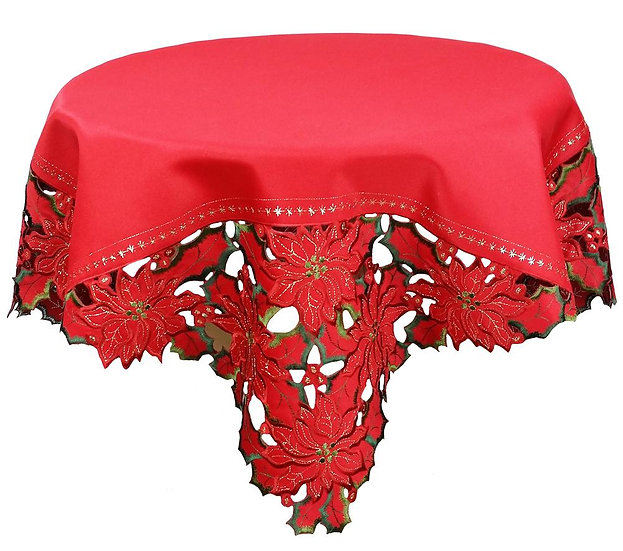 XD10982 Holiday Spirit Table Topper, 36''x36''