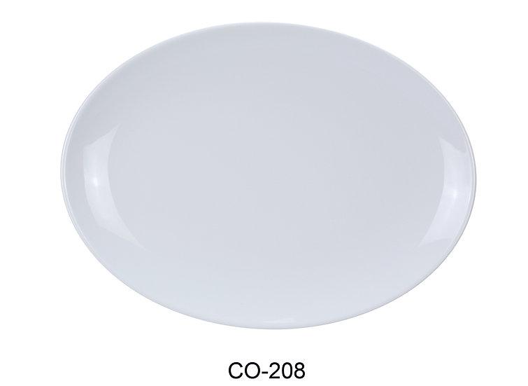 Yanco CO-208 Coupe Pattern Oval Platter