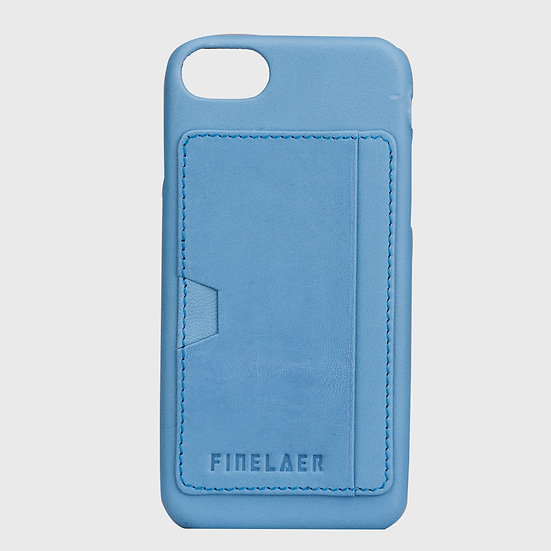 Soft Leather iPhone 7/8 Mobile Case Sleeve With Screen Protector Card