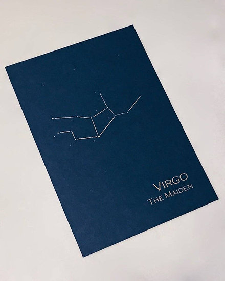 Virgo Constellation Zodiac Art Print