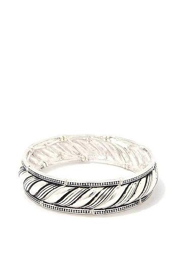 Metal Rope Stretch Bracelet