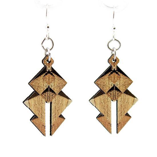 Egyptian Pyramid Earrings #1567