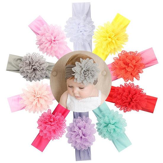 New Newborn Toddler Kids Baby Headband Flower