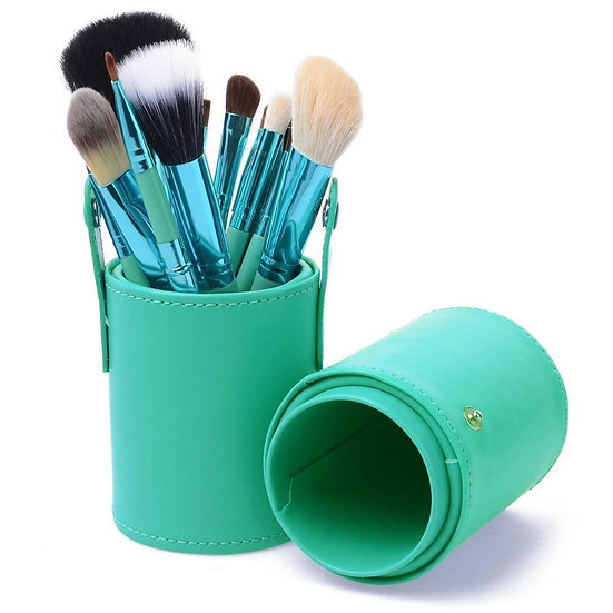 MAKEUP BRUSHES Coral Blue