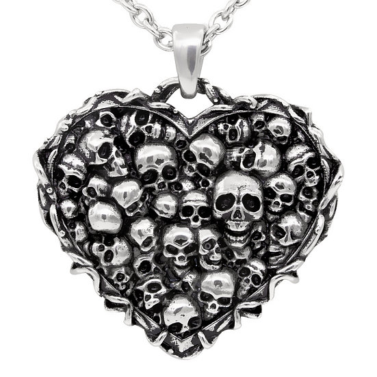Captivated Souls Heart Necklace