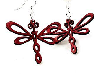 Dragonfly Earrings # 1242
