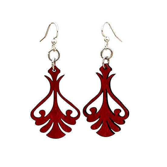 Iron Art Earrings #T060